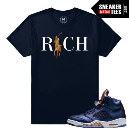 Bronze 5 T shirt Match Sneakers