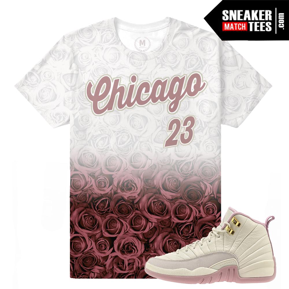 sports shoes fe636 01bd0 ... Jordan 12 GS Plum T shirt Match air JORDAN 12 RETRO ...