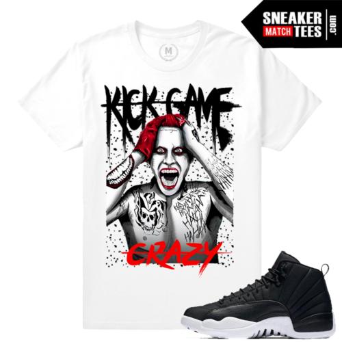 Jordan 12 Neoprene T shirts Match Sneakers