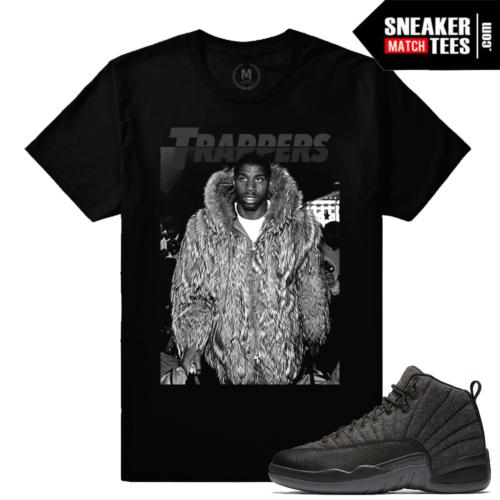 Jordan 12 Wool T shirt Match