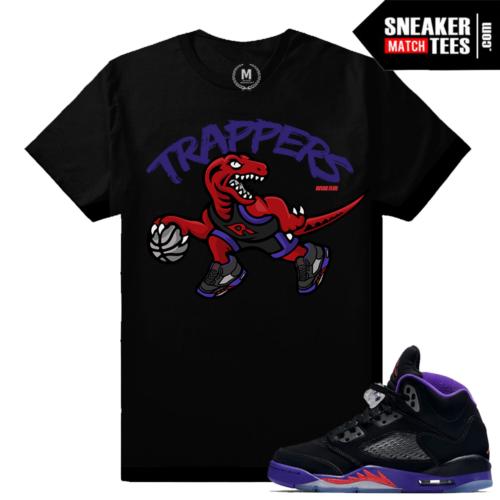 Jordan 5 Raptors matching t shirt