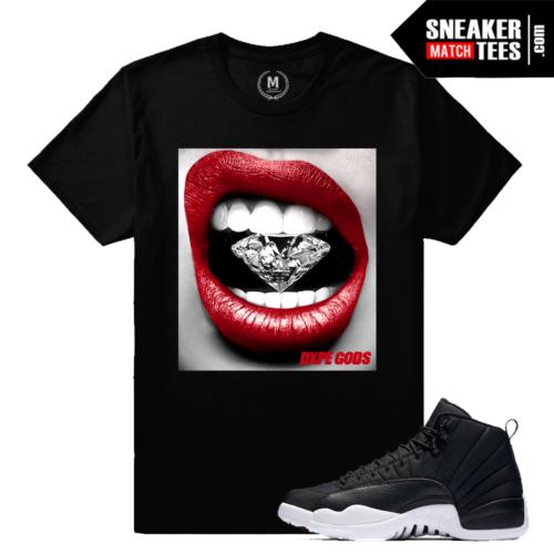Neoprene 12 Air Jordan Match T shirt