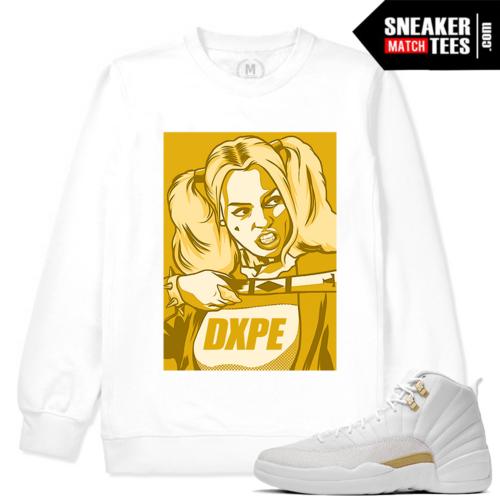 OVO 12 Jordan Match White Sweater