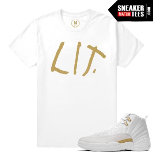 OVO 12 Jordans Matching Sneaker Shirts