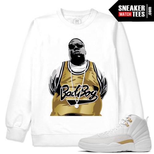 OVO 12 White Sweatshirt Matching Jordan 12