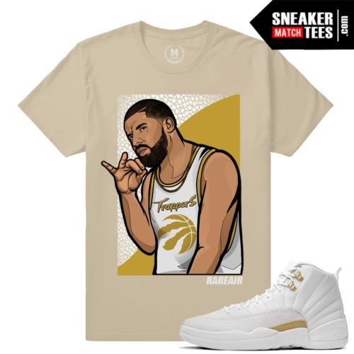 OVO 12s matching Sneaker tee shirt
