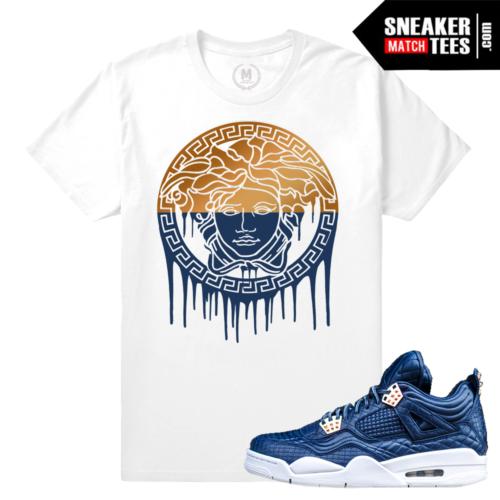 Obsidian T shirt match Jordan 4