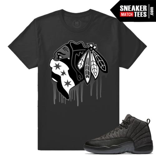 Shirt Match Jordan 12 Wool