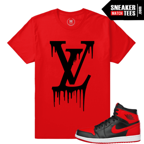 Shirts match Banned 1 Jordan shoes