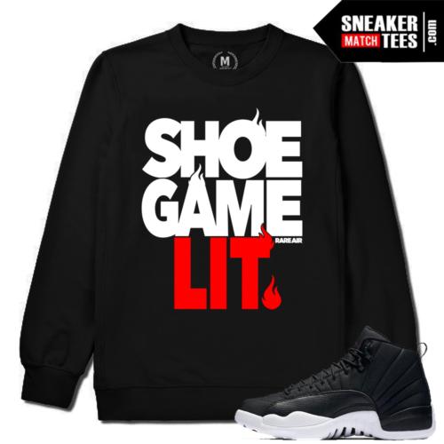 Sneaker Crewneck Match Jordan 12 Neoprene