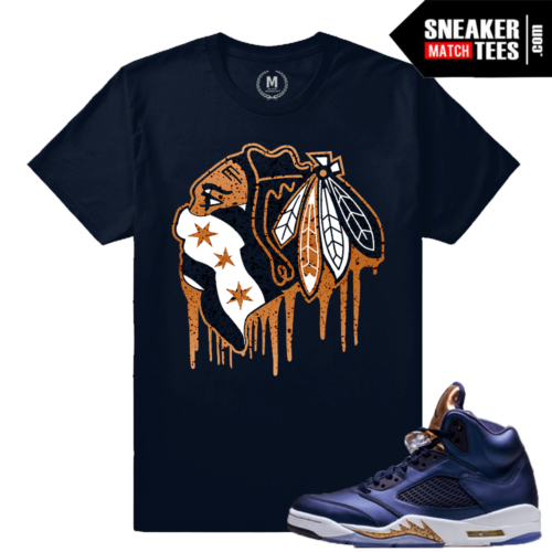 Sneaker Match Bronze 5 Jordan Retros