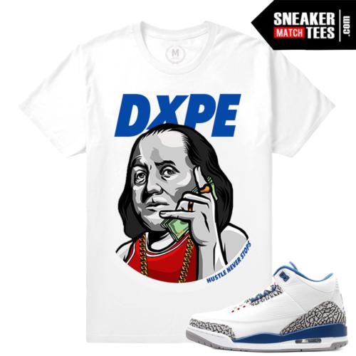 Sneaker Match Tees True Blue 3s