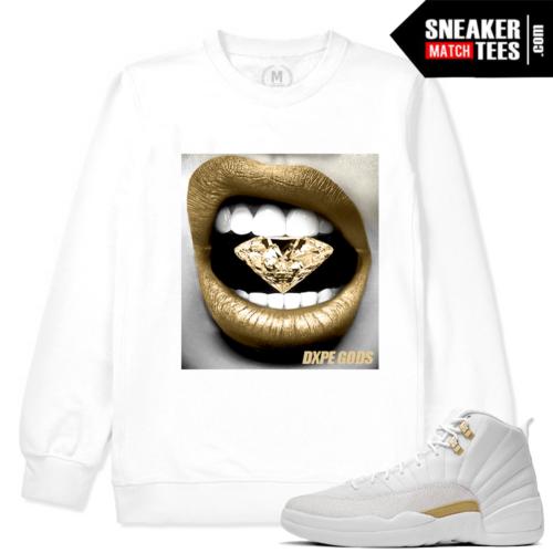 Sneaker Sweatshirt Match Jordan 12 OVO