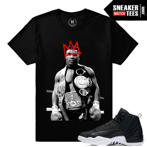 Tyson T shirt Matching Jordan 12 Neoprene