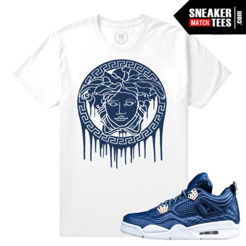 Sneaker T shirt Match Obsidian 4s
