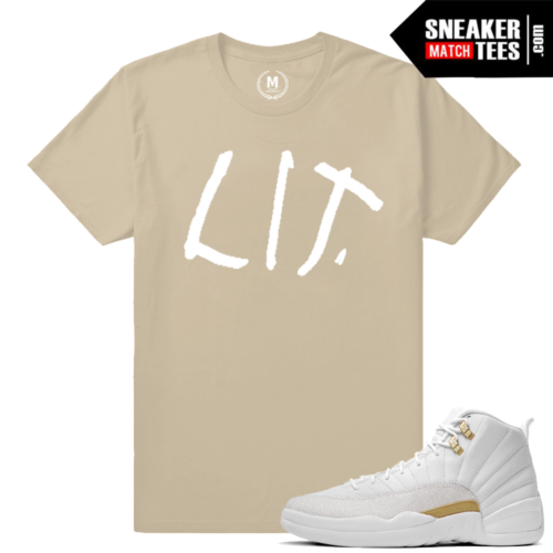 Sneaker Tees Match Jordan 12s OVO Tees