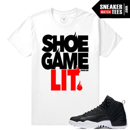Sneaker Tees Match Jordan 12 Neoprene Sneakers