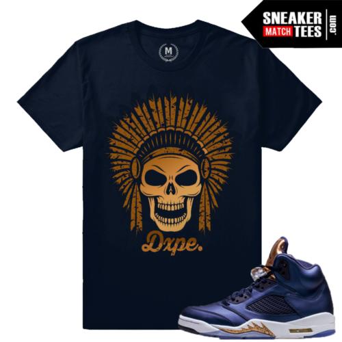 Sneaker Tees Match Jordan Bronze 5s