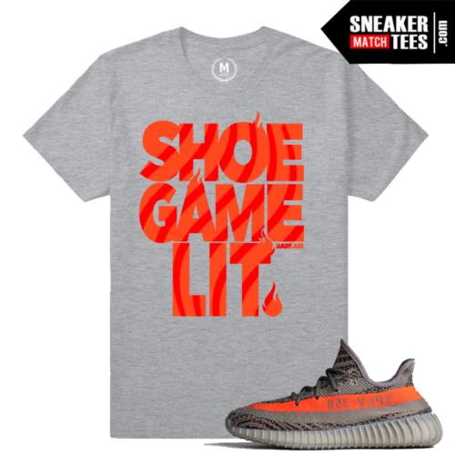 Sneaker Tees Match Yeezy Boost 350 Beluga