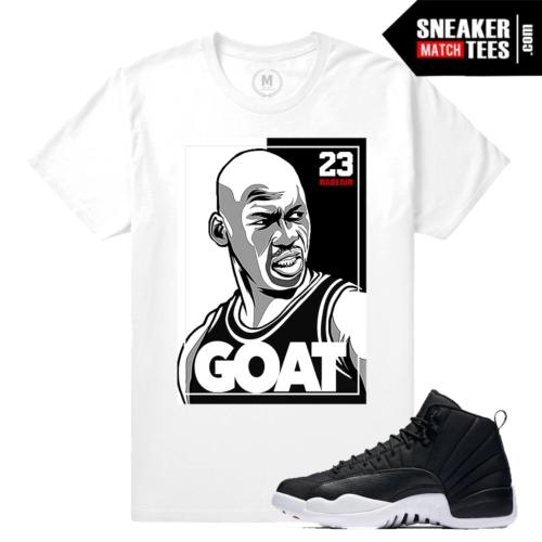 T shirt Jordan 12 Neoprene Match
