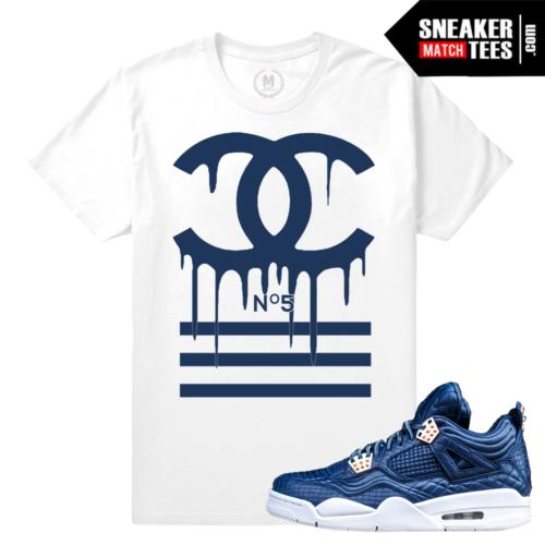 T shirt match Jordan Obsidian 4s