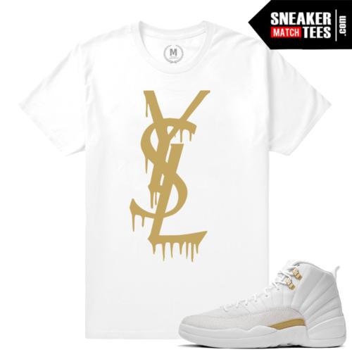 T shirt matching OVO 12 Jordans