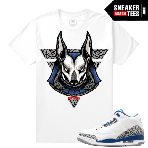 True Blue 3 Matching Sneaker tee