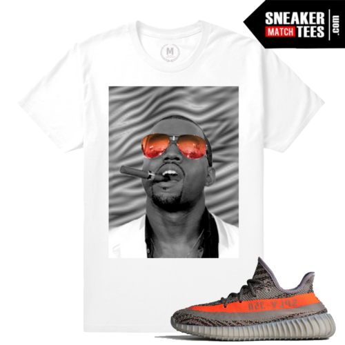 Yeezy 350 Boost VA Beluga Kanye T shirt