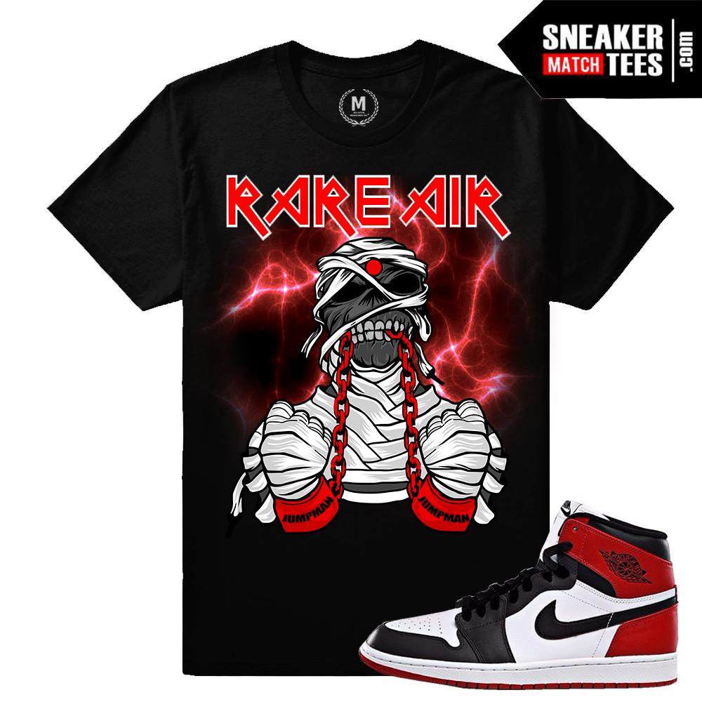 352198f22ea0 Air Jordan 1 Black Toe T shirt Match