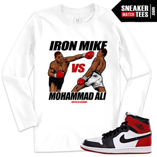 Black Toe 1 Jordan T shirt