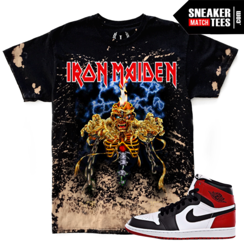 Black Toe 1s Jordan Retros Match T shirt