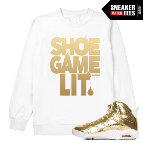 Crewneck Sweatshirt Match Pinnacle 6s Jordan Retros