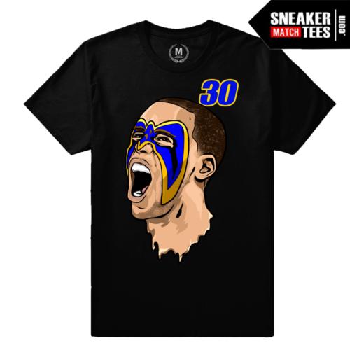 Curry Warriors T shirt Black