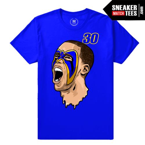 Curry Warriors T shirt Blue