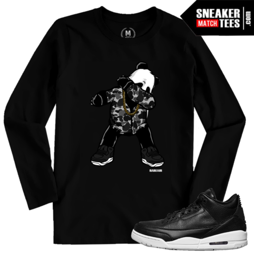 Cyber Monday 3s Match Sneaker Tees