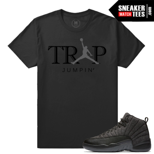 Jordan 12 Wool Matching T shirts
