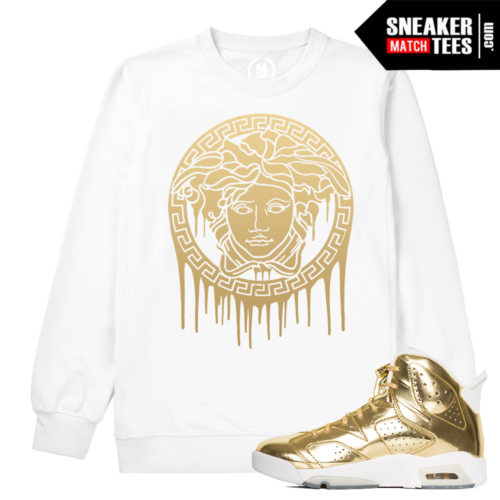 Jordan 6 Pinnacle Medusa Drip Crewneck Sweatshirt