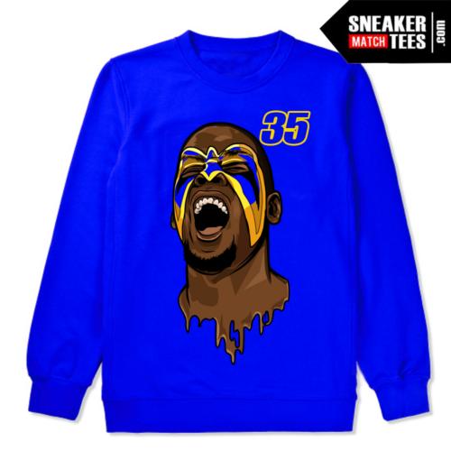 KD Warriors Sweatshirt Blue