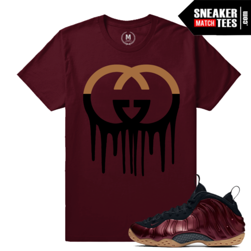 Maroon Foams Tee Match