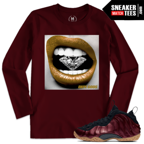 Night Maroon Foams T shirt