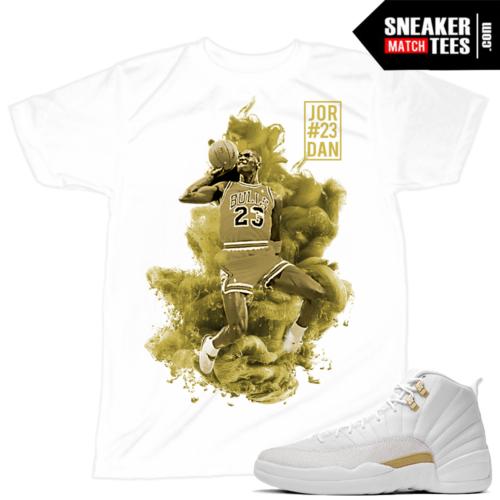 OVO 12s match Sneaker tee shirt