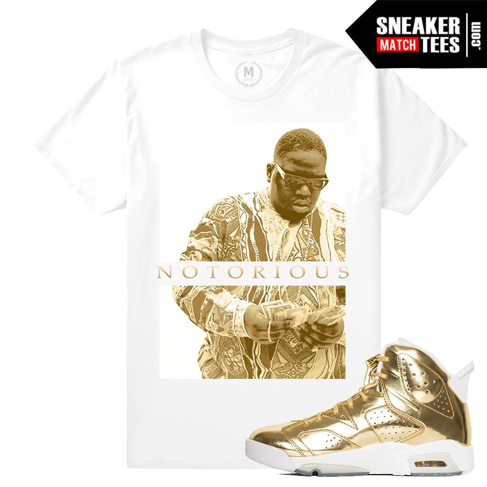 Pinnacle Gold 6s Jordan T shirts  8a2c99f72bb5