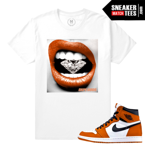 Reverse shattered backboard 1s Match Sneaker tees