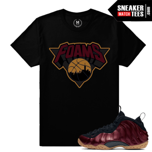 Shirts Match Night Maroon Foams