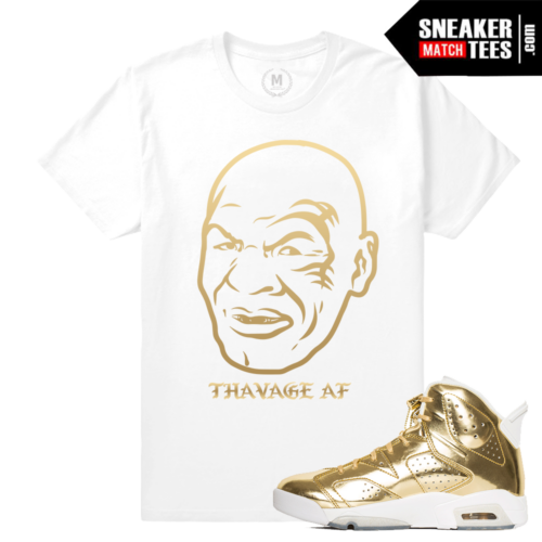 Shirts Match Pinnacle Gold 6s Jordan Retros