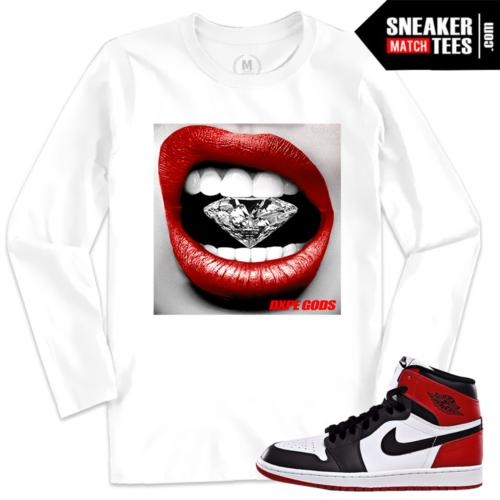 Sneaker Tee Black Toe 1 Jordan