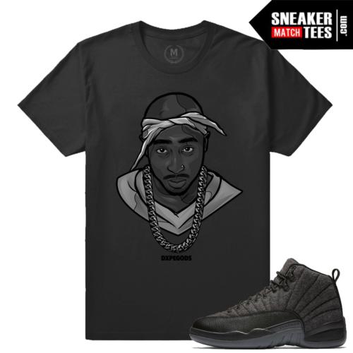 Sneaker tees match Wool 12 Jordan