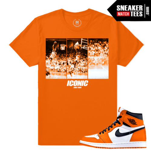Sneaker Tee Shirt Jordan 1 Shattered Backboard 1s