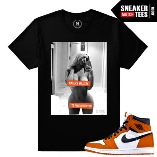 Sneaker Tee Shirt Match Reverse Shattered Backboard 1s