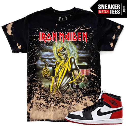 Sneaker Tees Match Jordan 1 Black Toe